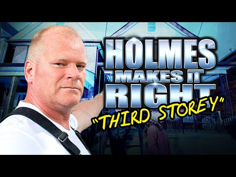 HOLMES MAKES IT RIGHT: Third Storey Story