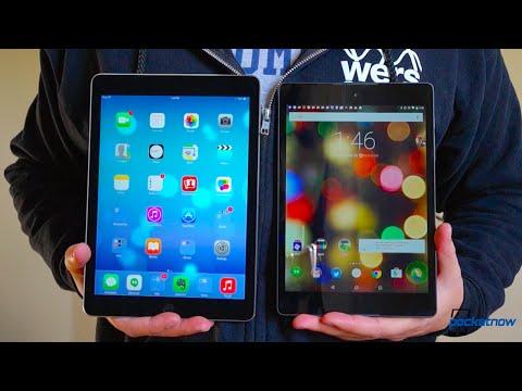 iPad Air 2 vs Nexus 9: Not Much of a Showdown