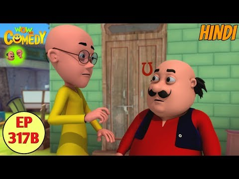 Motu Patlu | Cartoon in Hindi | 3D Animated Cartoon Series for Kids | Khazana Khazana thumbnail