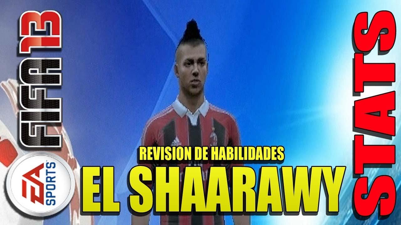 Stats Milan Fifa 13 Fifa 13 Stats el Shaarawy en