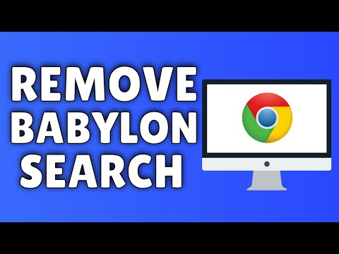 How To Remove Babylon Search/Toolbar From Google Chrome | 2014