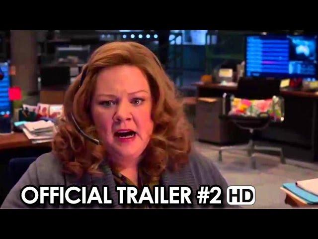 SPY Official Trailer #2 (2015) - Melissa McCarthy, Jason Statham Movie HD