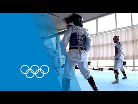 Taekwondo Training With Spain's Calvo Sisters | The Making Of An Olympian video