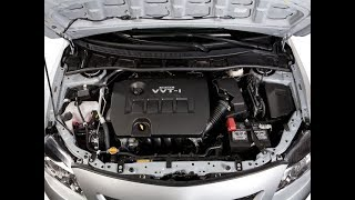 """Cách Làm Sạch Khoang Máy/Động Cơ """"NHƯ MỚI""""  xe Toyota Altis/Corolla."""