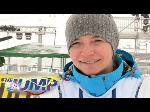 Louise Thompson, Lady Victoria Hervey & Jodie Kidd Training Session - The Jump