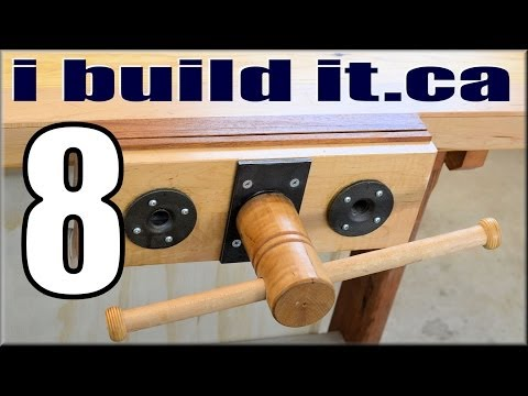 Making A Woodworking Vise, Part 8 Of 10 Music Videos