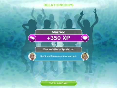 The Sims FreePlay - Marriage and Babies Update!