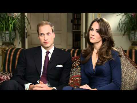 Prince William & Kate Middleton - The Interview (Part 2)