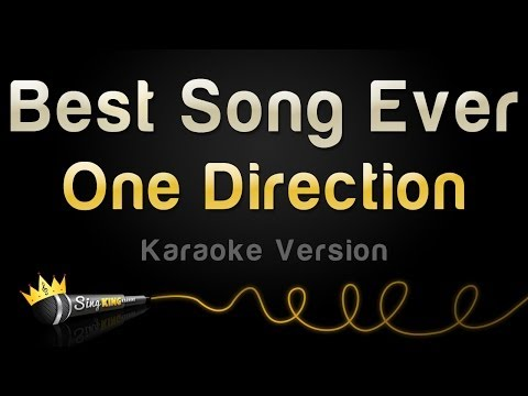 One Direction - Best Song Ever (Karaoke Version)