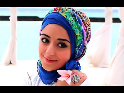 Hijab Turban Hijab Tutorial For Hot Weather Or On Holiday