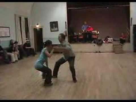 Kevin and Sarah - Freestyle Lindy Hop