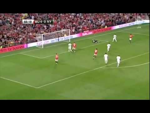 Paul Scholes Testimonial match-Manchester United vs New York Cosmos 6-0