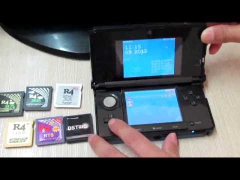 7 Flashcarts Tested on 3DS Ver 6.3.0-12U