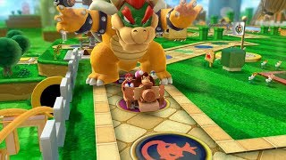 Mario Party 10 Bowser Party #354 Donkey Kong, Spike, Toadette, Mario Mushroom Park Master Difficulty