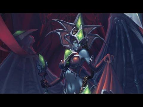 Warcraft. История Лана'тель и Сан'лейн | Вирмвуд