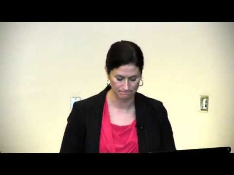 Wendy Harris' Speech at the CESO 2012 AGM