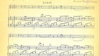 اثری از ثمین باغچه بان برای پیانو و آواز. این کار روی شعری از بابا طاهر در سال ۱۹۵۰ ساخته شده است و
