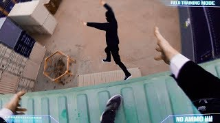 Jack Ryan meets Parkour in Real Life meets First Person!
