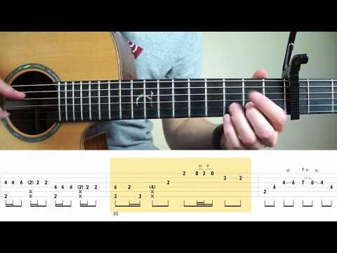 Charlie Puth - Attention -  Fingerstyle Guitar Tutorial (lesson) by Mattias Krantz