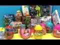 Bidolu Sürpriz Yumurta Açma videosu, Şimşek Mcqueen, mine craft, shopkins Oyuncakları