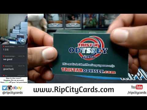 2017 Tristar Odyssey Baseball 3 Personal Envelopes RCC 12072017