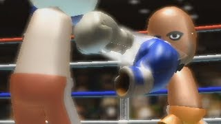 Fighting Matt, the Final Boss of Wii Sports