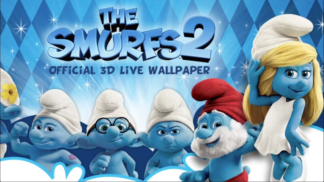 Smurfs 2 The Smurfs 2 3d Live Wallpaper