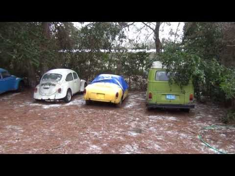 Pensacola, FL Ice/Snowstorm 2014-01-29 Part 8