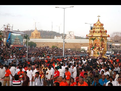 Tirupati Balaji Temple   Andhra Pradesh (india) video