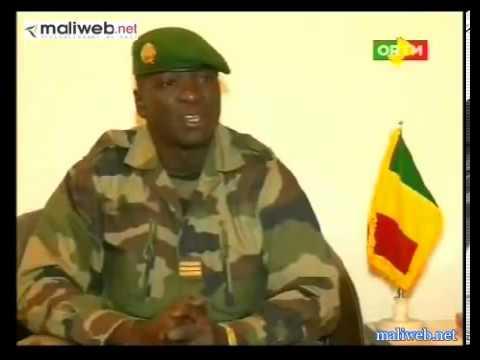 MALI - Explication du Capitaine Amadou Haya Sanogo sur la démission de Cheick Modibo Diarra