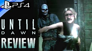Until Dawn Review - PS4 Exclusive Survival Horror - 1080p