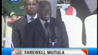 Former President Kibaki funny moments at Mutula's funeral