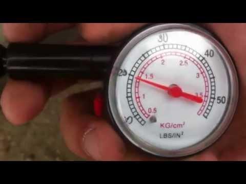 Видео как проверить манометр