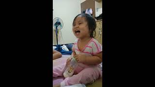 When your Baby can Fake Laugh