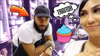 WE HAD TO LEAVE PAPA CLARE BEHIND (HE DIDN'T HELP US MAKE CUPCAKES) | VLOG |
