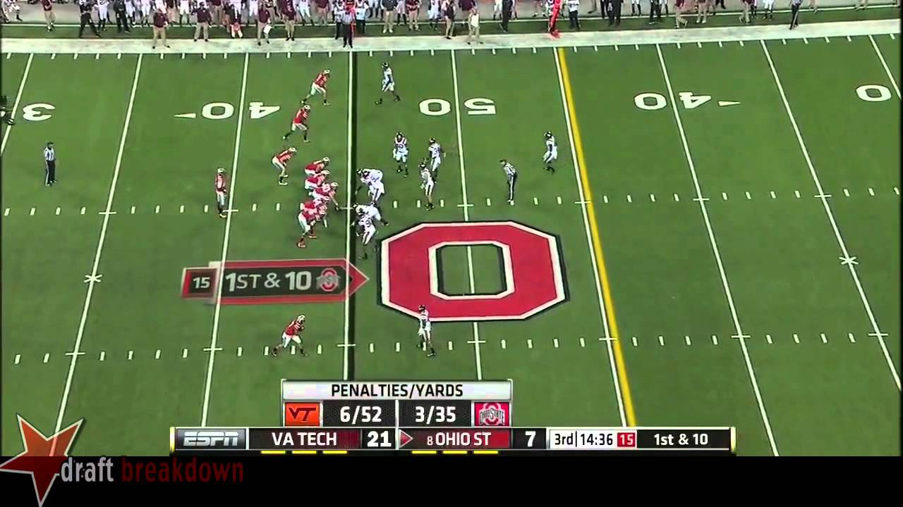 Kendall Fuller vs Ohio State (2014)
