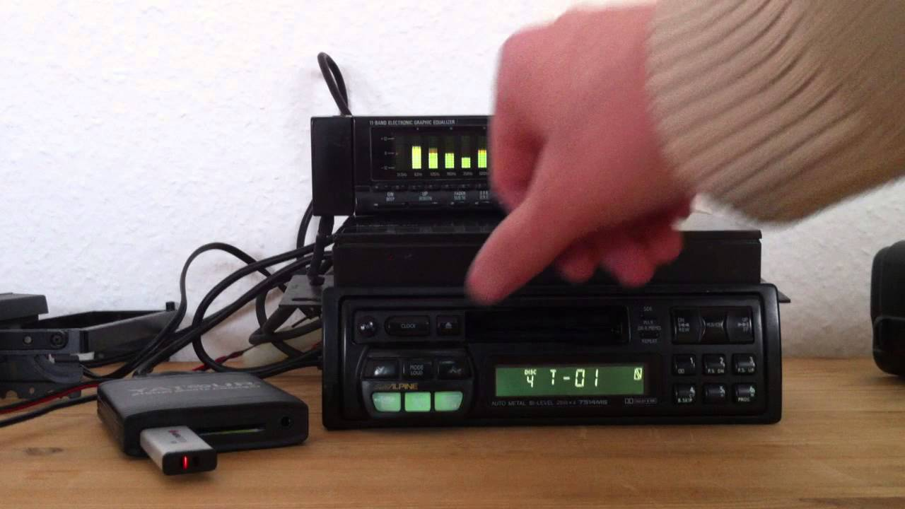 Alpine 3339 Equalizer And 7514 Ms On Yatour Usb Adapter Old Skool