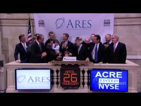 Ares Commercial Real Estate Corporation lists IPO and rings the NYSE Opening Bell