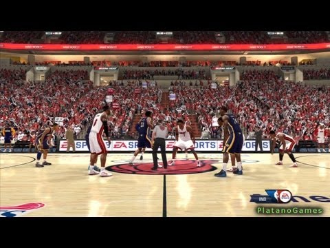 NBA Playoffs 2013 East Finals - Miami Heat vs Indiana Pacers - Game 7 - 1st Qrt - NBA Live '13 - HD