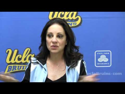 UCLA Gymnastics Press Conference, 4-4-12