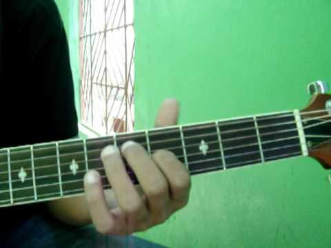 Tutorial de guitarra - Que seas mi universo.MOV - YouTube