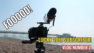 Vlog Number 2   Lucky Subscriber From Worthing