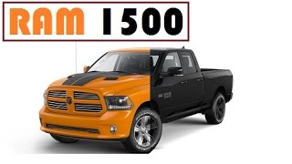 Ram 1500 Ignition Orange Sport and 1500 Black Sport, limited edition models introduced