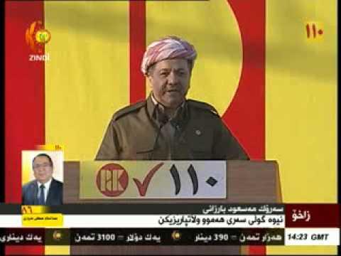 Serok Barzanî li helmeta Hilbijartinên Parlemena Kurdistanê li Zaxo