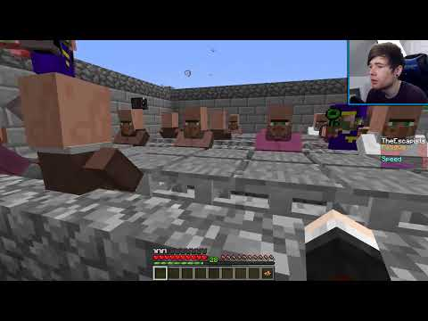 Minecraft   THE ESCAPISTS IN MINECRAFT!!   Custom Map