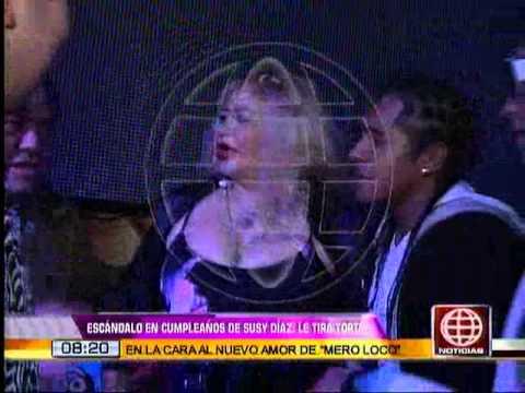 América Noticias:28.09.13- Cumpleaños de Susy Diaz