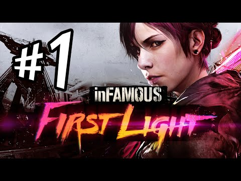 inFAMOUS First Light - Parte 1: Abigail Walker [ Playstation 4 - Dublado em PT-BR ]