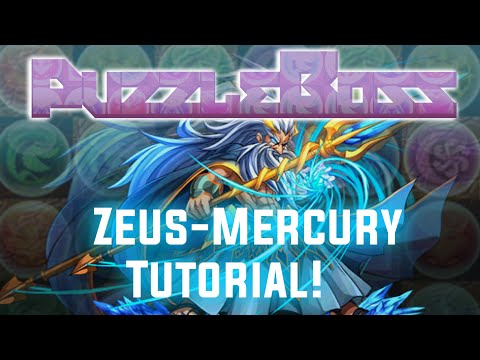 Zeus-Mercury Descended! - FULL TUTORIAL! - Puzzle and Dragons - パズドラ