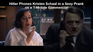 Hitler Phones Kristen Schaal in a Sexy Prank on a T-Mobile Commercial