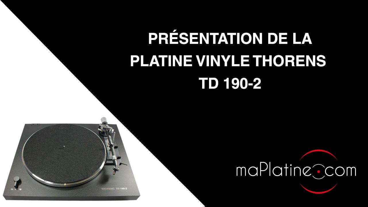 D ballage et emballage d 39 une platine vinyle thorens td190 2 youtube - Ampli platine vinyle ...